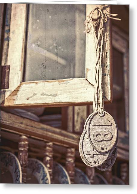 Hanging Eighteen Greeting Card by Caitlyn  Grasso