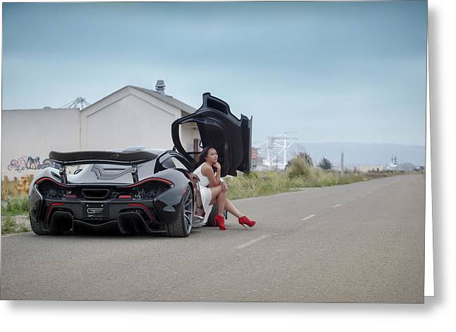Hanging Out In A #mclaren #mso #p1 Greeting Card by ItzKirb Photography