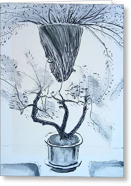 Hanging Plant Greeting Card