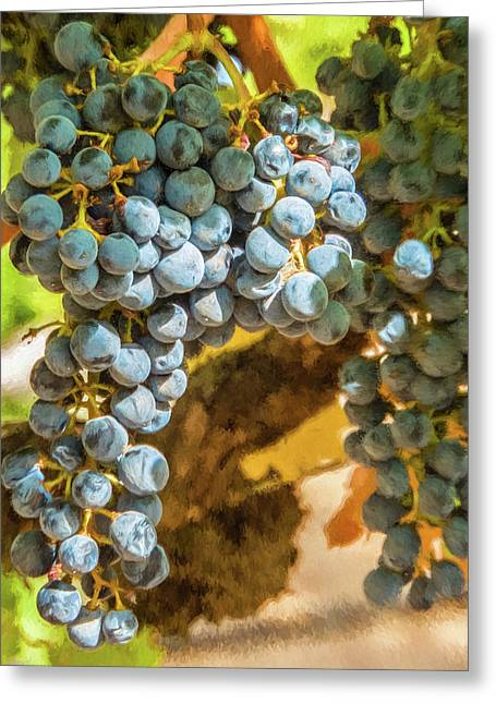 Hanging Wine Greeting Card