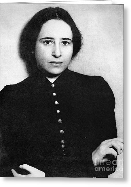 Hannah Arendt (1906-1975) Greeting Card