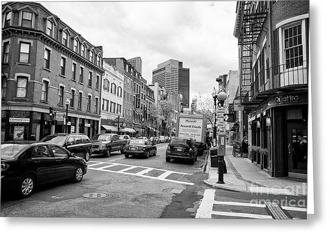 Boston North End Greeting Cards Page 4 Of 9 Fine Art America