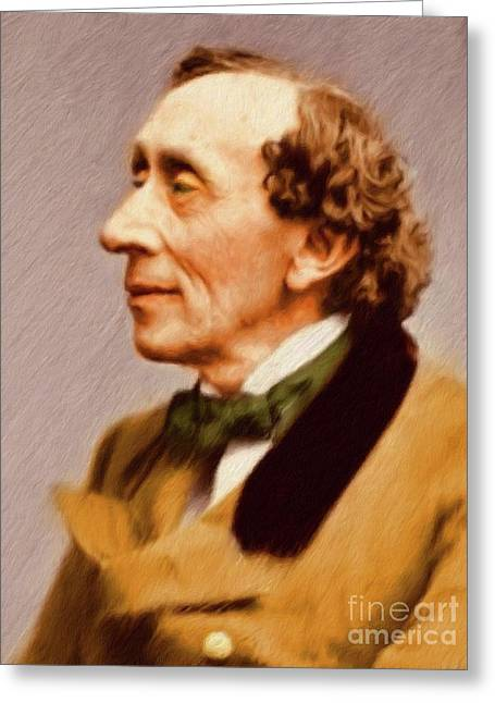 Hans Christian Andersen, Literary Legend Greeting Card