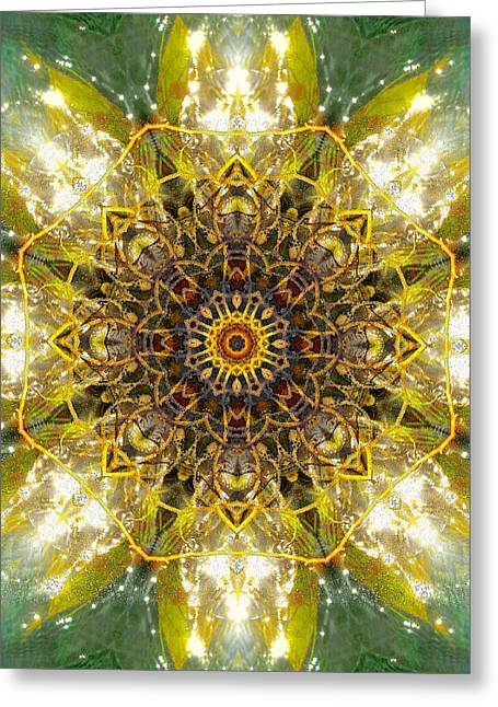 Greeting Card featuring the digital art Happiness by Rhonda Strickland
