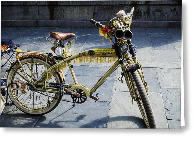 Happy Bike Greeting Card