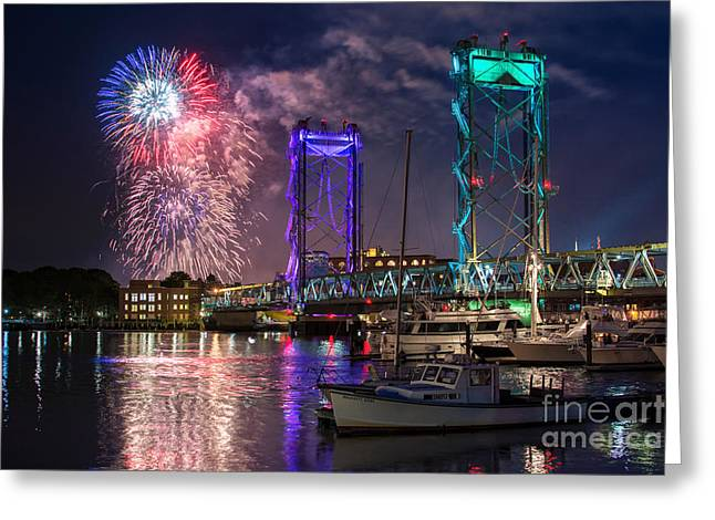 Happy Birthday America 2015 Greeting Card by Scott Thorp