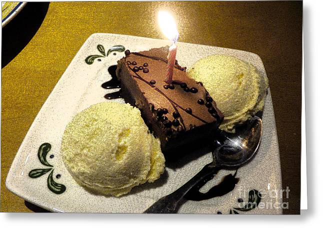 Greeting Card featuring the photograph Happy Birthday Wish by Janelle Dey