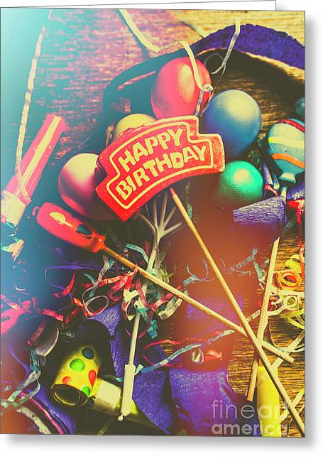 Happy Birthday Greeting Card by Jorgo Photography - Wall Art Gallery