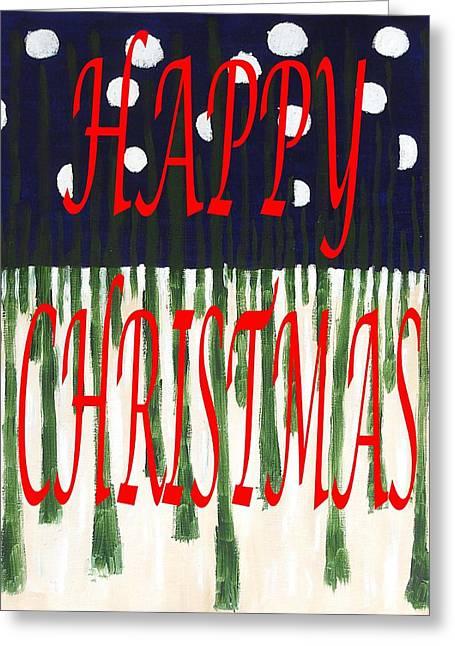 Happy Christmas 110 Greeting Card by Patrick J Murphy