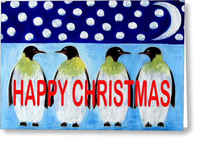 Happy Christmas 24 Greeting Card by Patrick J Murphy