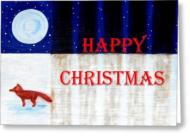 Happy Christmas 28 Greeting Card by Patrick J Murphy
