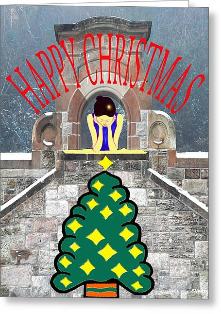 Happy Christmas 31 Greeting Card by Patrick J Murphy