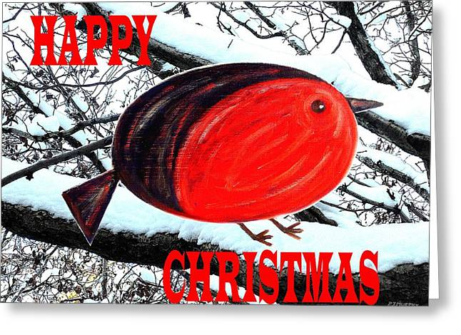 Happy Christmas 42 Greeting Card by Patrick J Murphy