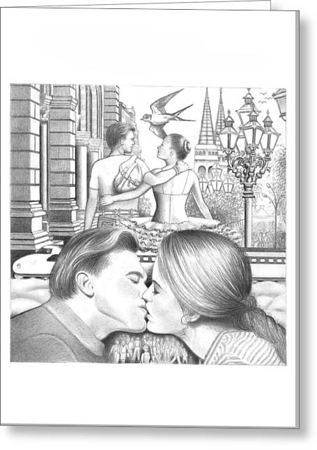 Happy Couple  Greeting Card