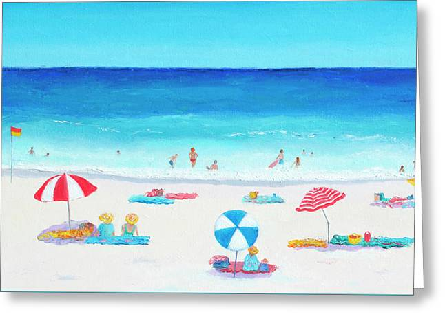 Happy Days 1 Greeting Card by Jan Matson