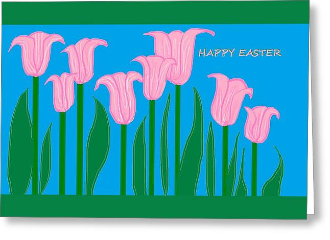 Happy Easter 1 Greeting Card