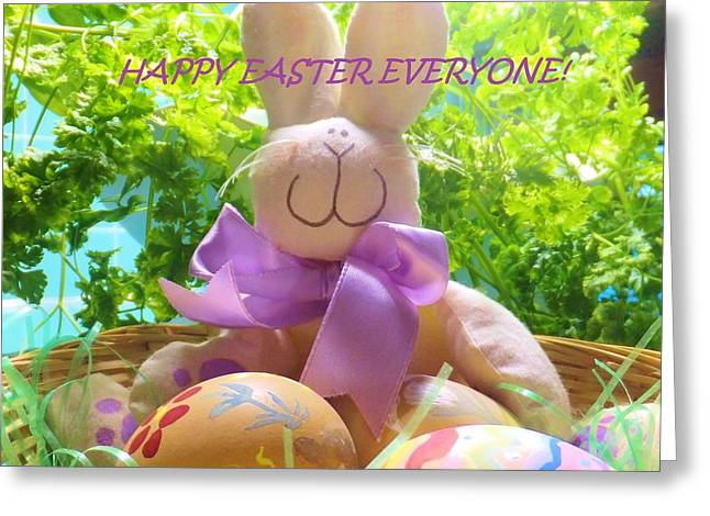 Happy Easter Everyone Greeting Card