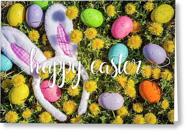 Greeting Card featuring the photograph Happy Easter by Teri Virbickis
