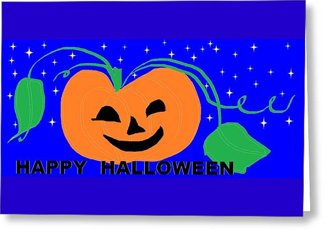 Happy Halloween 1 Greeting Card
