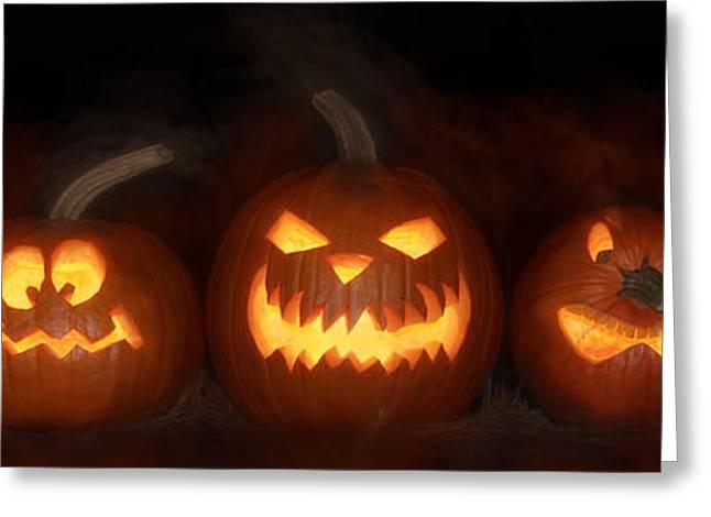 Happy Halloween Greeting Card by Lori Deiter