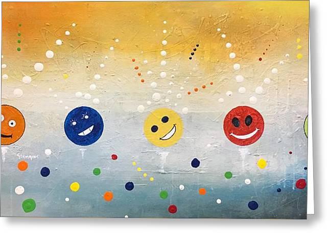 Happy Happy Joy Joy Greeting Card