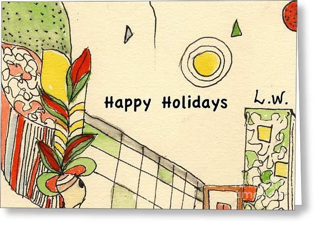 Happy Holidays-05 Greeting Card