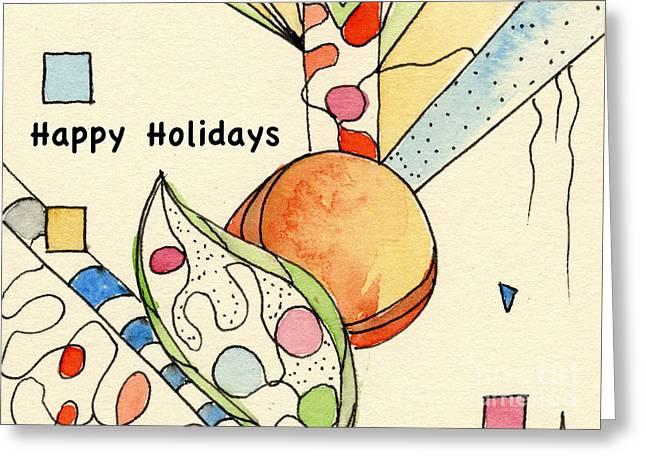 Happy Holidays-03 Greeting Card