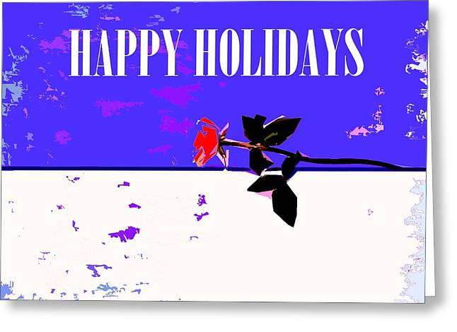 Happy Holidays 66 Greeting Card by Patrick J Murphy