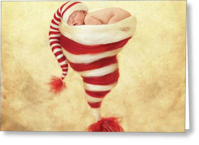 Happy Holidays Greeting Card by Anne Geddes