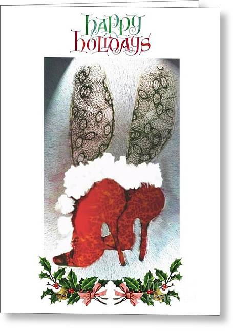 Happy Holidays - Christmas Card Greeting Card