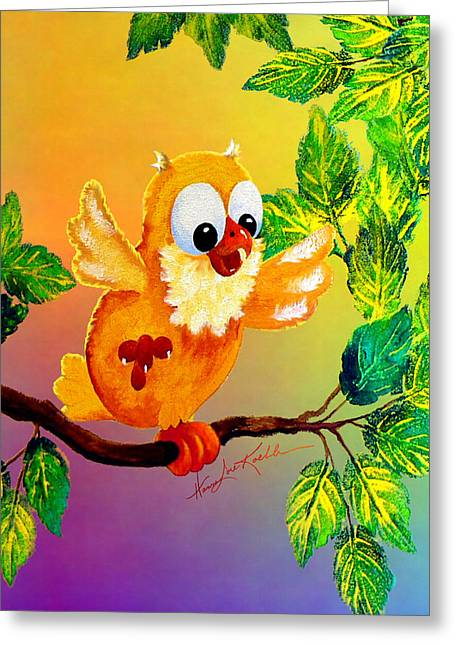 Happy Hoot Greeting Card