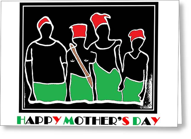 Happy Mother's Day 3 Greeting Card