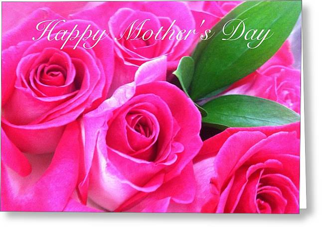 Happy Mother's Day Greeting Card by Alohi Fujimoto