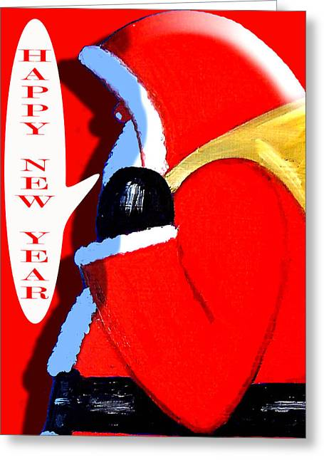 Happy New Year 4 Greeting Card by Patrick J Murphy