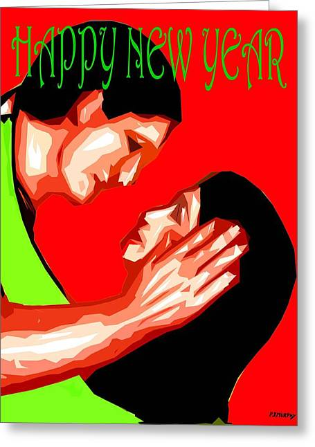 Happy New Year 49 Greeting Card by Patrick J Murphy