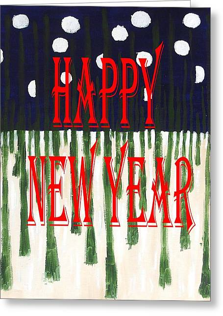 Happy New Year 92 Greeting Card by Patrick J Murphy