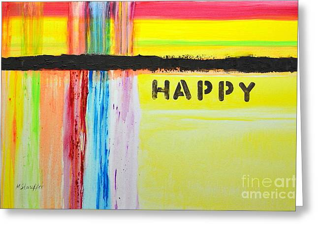 Happy Painting Greeting Card