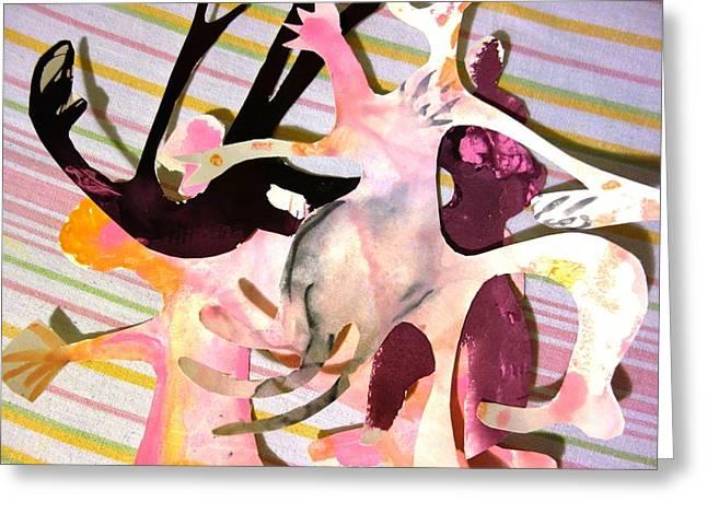 Happy People II Greeting Card by Reiner Poser