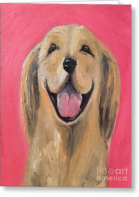 Happy Pup Greeting Card