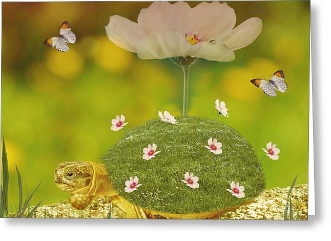 Happy Spring Greeting Card by Art Spectrum