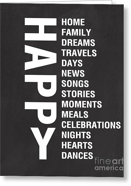 Happy Things Greeting Card