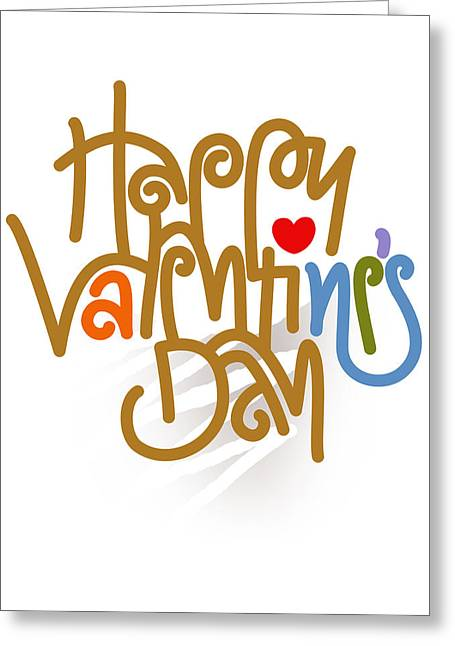 Happy Valentine's Day Poster Greeting Card