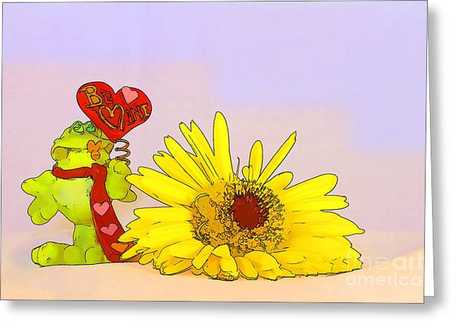 Happy Valentine's Day Greeting Card by Teresa Zieba