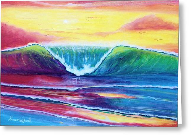 Happy Wave Greeting Card