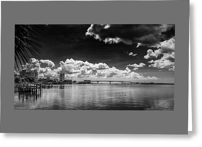 Harbor Bluffs Greeting Card