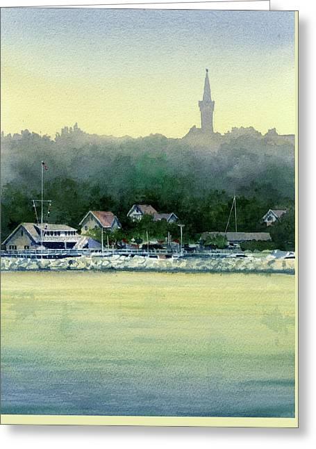 Harbor Master, Port Washington Greeting Card