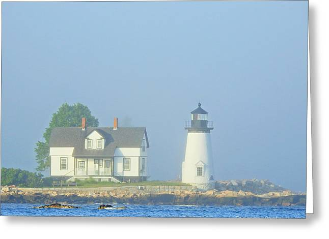Harbor Mist Greeting Card