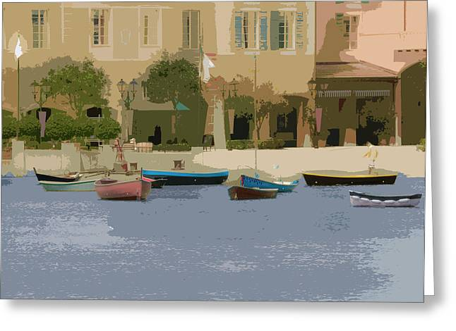 Harbor Greeting Card
