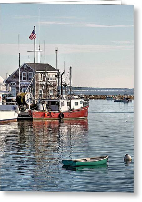 Harbormaster Shack Greeting Card