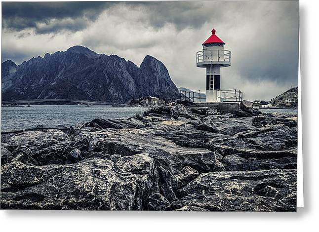 Harbour Lighthouse Greeting Card